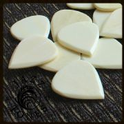 Jazz Tones - Bone - 1 Guitar Pick | Timber Tones